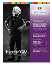 Cape Breton Regional Hospital Foundation Annual Report 2012