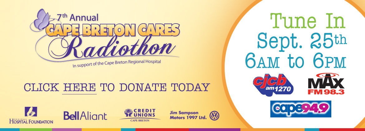 7th Annual Cape Breton Cares Radiothon